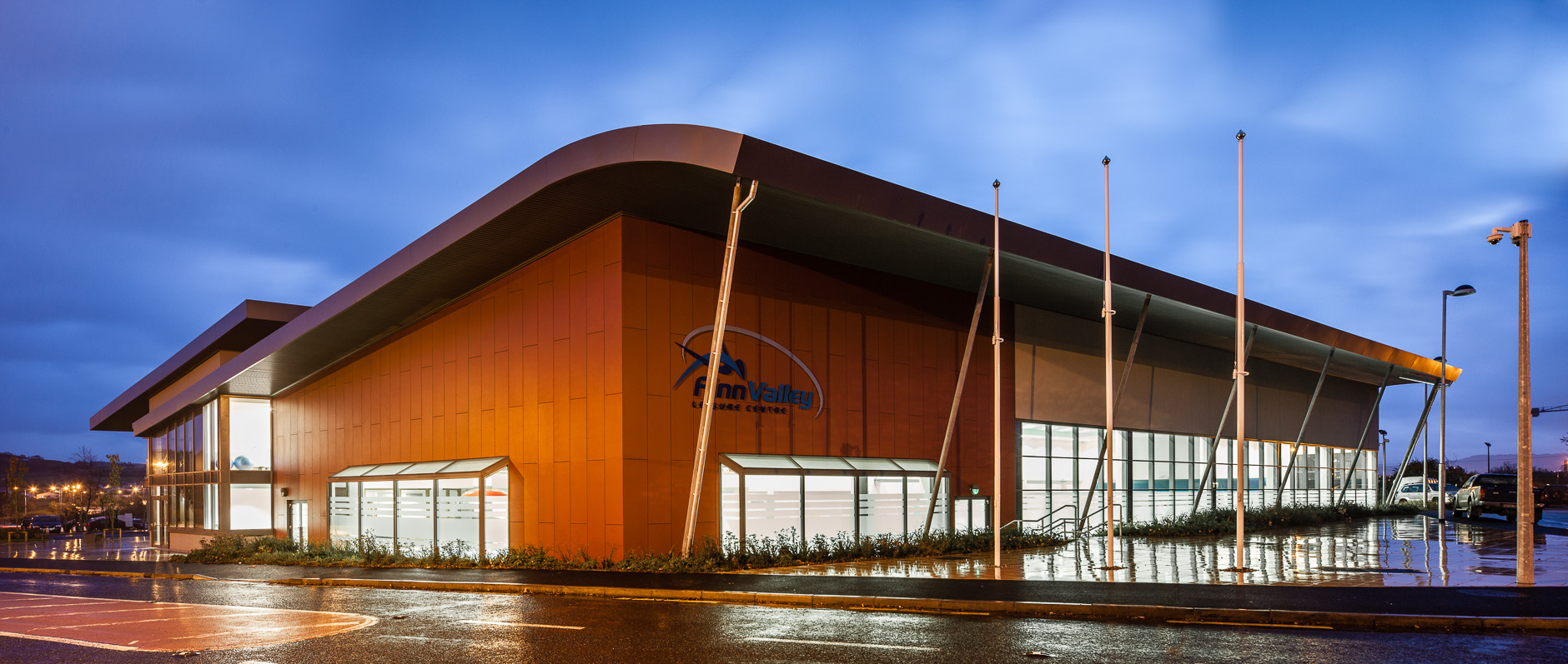 Finn valley leisure centre co donegal atkins ireland for Pool design company radom polen
